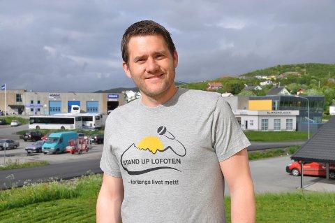 KORONAPENGER: Benjamin Einarsen i Stand Up Lofoten AS fikk 38.942  fra stimuleringsordning for kulturlivet