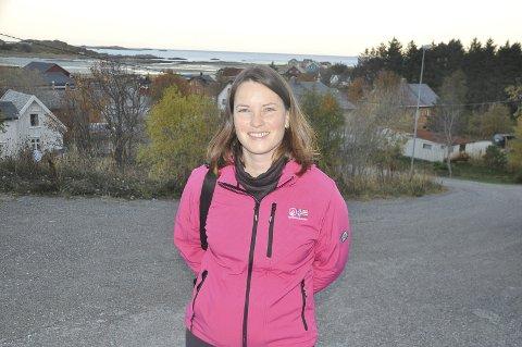 HAVPLAST: Hilde Rødås Johnsen, i SALT Lofoten, skal være prosjektleder for prosjektet «Havplast», i regi av Fiskeri- og havbruksnæringen Forskingsfond.