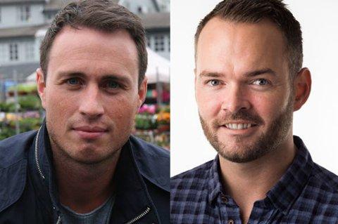 ENGASJERTE: Trygve Eriksen og Tom Steffensen.
