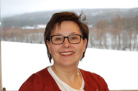 Kursleder Janne-Monica A. Kaarigstad fra Viken senter for psykiatri og sjelesorg i Bardu.