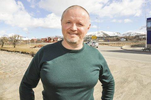 Sier opp: Steinar Bergheim har sagt opp rektorjobben ved Leknes skole.