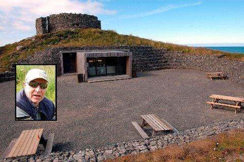 Bjørnar Davidsen (innfelt) er fortsatt i sjokk etter at Kvalhausen Kafe som han driver på Eggum ble rundstjålet i helgen.