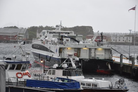 Den gamle flåten med hurtigbåter skal på sikt erstattes av utslippfrie båter. MS Steigtind på bildet er allerede erstattet med MS Elsa Laula Renberg.