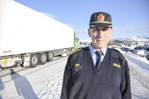 OMFATTENDE: Lensmann Asbjørn Sjølie sier evakueringen er et omfattende arbeid