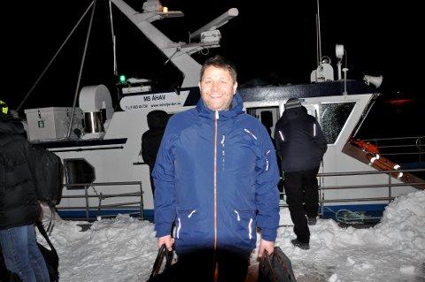 FORNØYD: Jan Ståle Grfytdal var fornøyd med å være hjemme igjen etter to ekstradøgn på hytta