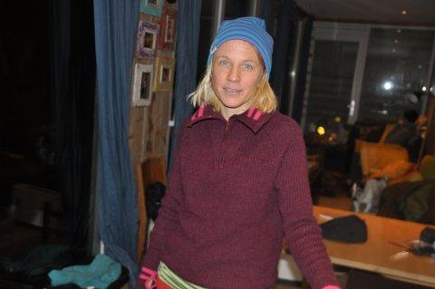 SKUFFET: Kari Schibevaag er skuffet over måten den nye eieren av Skagen Camping i Flakstad har behandlet henne. Nu forlater hun sannsynligvis Flakstad.