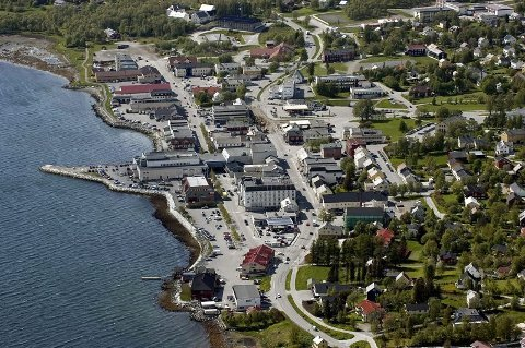 Deler av Fauske sentrum blir sikret mot kvikkleireskred.