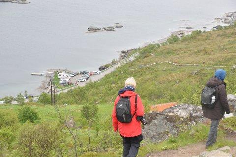 TORSFJORDEN: Bygdelaget på Fredvang vil ikke ha parkeringsplass i Torsfjorden. FOTO: Magnar Johansen