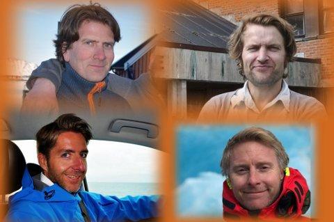Lasse Vebostad, Eirik Magnus Samland, Sondre Knutsen Alvær og Magne Jacobsen