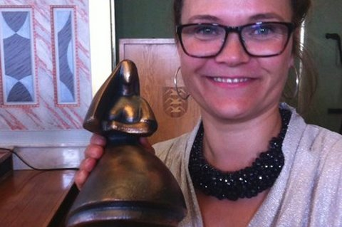 Filmskaper Marianne Ulrichsen fikk sitt faglige grunnlag gjennom filmskolen i Kabelvåg. Hun håper nå at skolen består. Arkivfoto