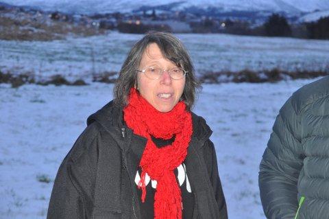 JORDVERN: Leder i Vestvågøy Landbruksforum, Solveig Utvik, mener kommunen i sin nye arealplan må styrke vernet av landbruksjord.