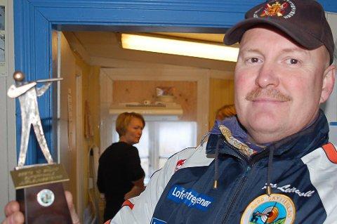 BEKYMRET: Leder i Napp Skytterlag, Rino Leirvoll, er oppgitt over forslaget til EU, om forbud av blyammunisjon.
