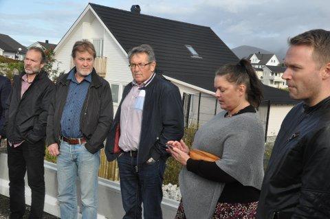 BREIDABLIKK: Linda Amundsen møtte våren 2018 det forrige Forvaltningsutvalget da byggingen av bolig på nabotomta ble politisk behandlet.