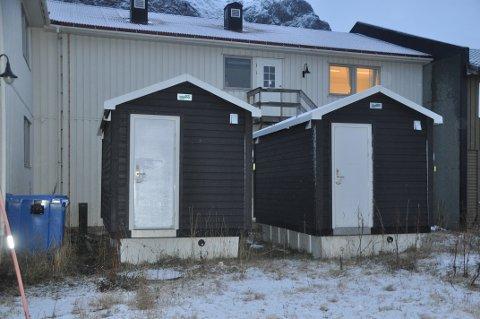 FLAKSTAD-TOALETT: Ett av disse håper kommunen å få på plass i Torsfjorden like over nyttår. Det andre kan bli plassert på Ramberg.