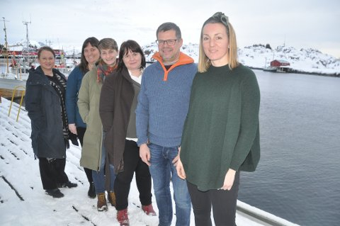 BÆREKRAFT: Miljømessig, sosial og økonomisk bærekraft er avgjørende for å utvikle reiselivet, mener fra. h. Sissel Jensen (Destination Lofoten), Trond Ketil Nilsen (hemmingodden), Sabine Pietschner, Barbro Grøgaard (Skrei), Hege Ragni Haugerud (Destination Lofoten) og Anette Morrison (Maren Anna). FOTO: Magnar Johansen