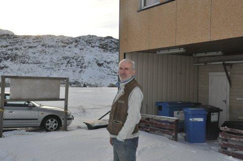 GODT MOTTATT: Planene til Trond Lohne for å løse parkeringsproblemene i Torsfjorden ble godt mottatt i kommunestyret i Flakstad.