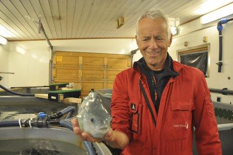 GIR SEG: Dag Hansen gir seg som daglig leder av Arctic Cleanerfish AS. - Nå skal jeg bare ha det artig, sier han Foto: Kai Nikolaisen