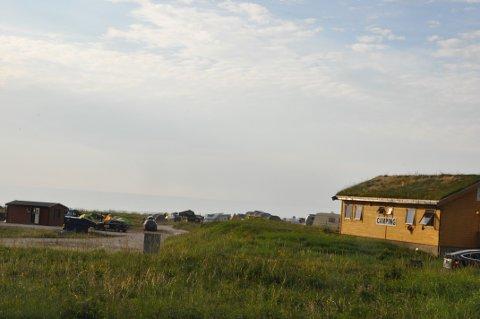 NYTT NAV:  Skagen Camping på Flakstad har fått ny navn. Lofogten Beach Camp  er det nye navnet. FOTO: Magnar Johansen
