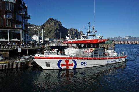 """Nye RS 169 bærer navnet """"Odd Fellow III"""", og anløper her Svolvær onsdag kveld 22. mai 2019 på jomfruturen sin i Norge."""