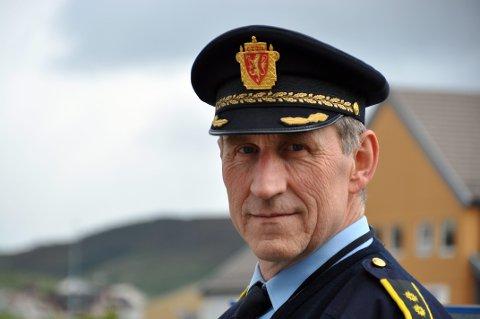MISTANKE: Lensmann Asbjørn Sjølie sier de har mistanke om hvem som står bak tyveriene på Ballstad