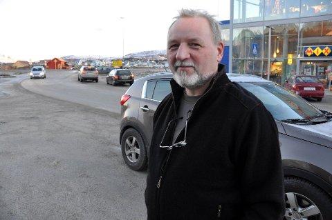 Faglig leder på Lofoten trafikkskolesenter AS på Leknes, Gudmund Zakariassen.