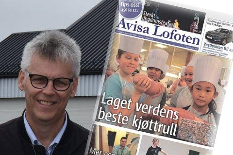 Melder oppbud: Avisa Lofoten melder oppbud knapt fire år etter oppstarten. Styreleder Kenneth Grav sier i en uttalelse til egen avis at det ikke er grunnlag for videre drift.