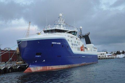 """TRÅLERFLÅTEN: """"Gadus Njord"""" er en av fire trålere som tilhører Nordland Havfiske AS"""