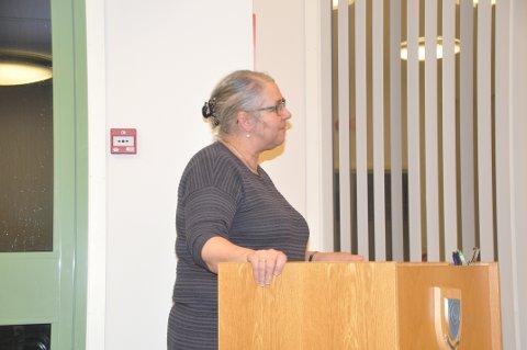 FORTSETTER: Moskenes SV vil sørge for at Lillian Rasmussen gjenvelges som ordfører 17. oktober. - Jeg gleder meg til å ta fatt på en ny periode, sier hun.