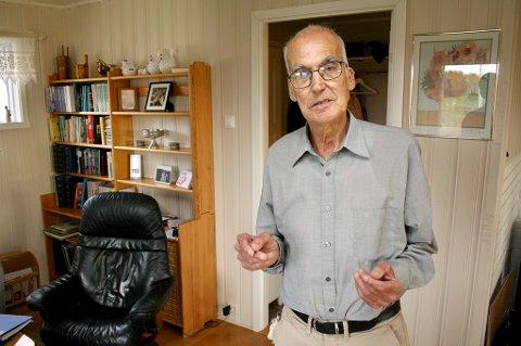 MÅTTE KJEMPE: Malvin Sylte (74) mener han ville ha dødd om han hadde gitt seg og godtatt vurderinga på legevakta.