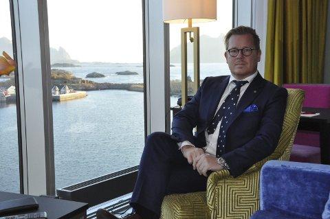 UTFORDRING: Direktør Erik Taraldsen ved Thon Hotel Lofoten mener airbnb gir utfordringer, spesielt på boligmarkedet.