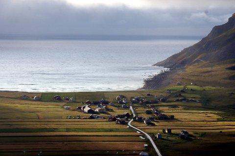 FILMPROSJEKT: Unstad er et av flere områder i Lofoten som blir en del av et stort filmprosjekt.