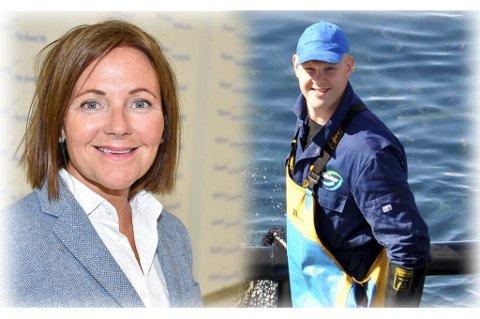 GODT TILBUD: Både Line Ellingsen i Ellingsen Seafood og Ole Vegard Mossen i Lofoten Seafood mener den nye private skolen er et godt tilskudd til lokalmiljøet.