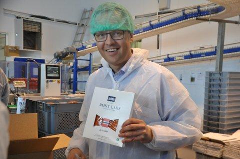 KREVENDE FJORÅR: - Vi har gjort en jobb som har effektvisert produksjonen, og ser resultatene, sier administrerende direktør i Insula AS, Sigvald Rist. Foto: Magnar Johansen