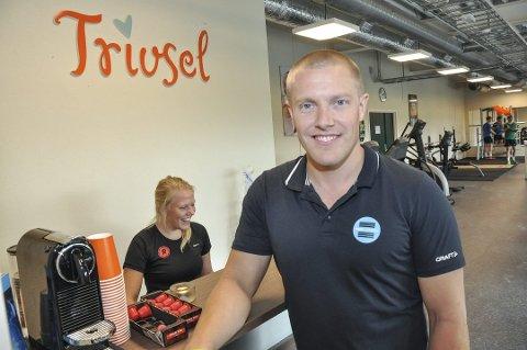 Trivsel: Daglig leder, Daniel Andreassen, sier de følger et strengt regime ved treningssenteret.
