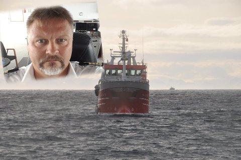 """SKIPPER: Odd Egil Krogh forlater lærerjobben for å bli skipper på """"Ballstadøy"""""""