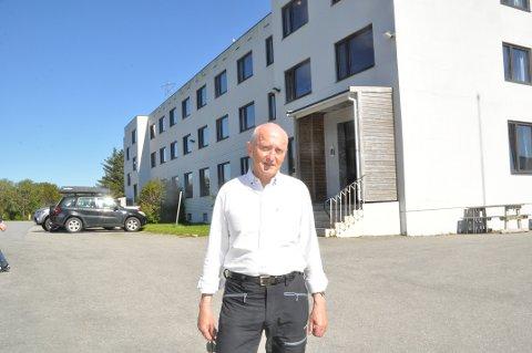 SKOLEHISTORIE: Søren Fredrik Voie skriver historien om de videregående skolene på Vestvågøy.