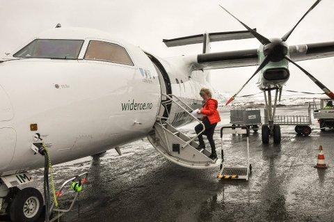 Sommerprorgram: Det blir ordinært sommerprogram med fly fra Lofoten i sommer fra 1. juli