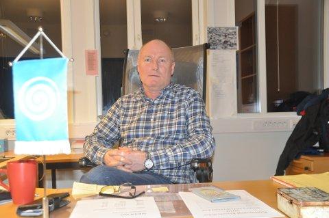 SLUTTER: Arne Jørgen Påsche forlater Moskenes for å komme nærmere foreldrene i Namdalen.
