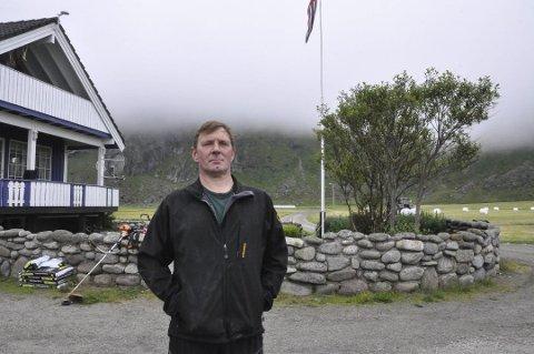 TROLLSTERK: Bare en gang før på nærmere 20 år har Ståle Olsen målt sterkere vind enn det han gjorde onsdag.