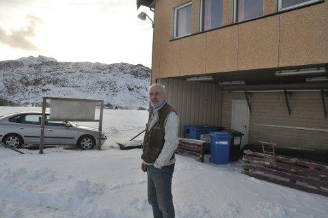 UAVKLART: Trond Lohne er klar til å overta Fredvang skole 10. juni. Hvem som eier idrettsbanen som er tenkt til parkering er fortsatt uklart.
