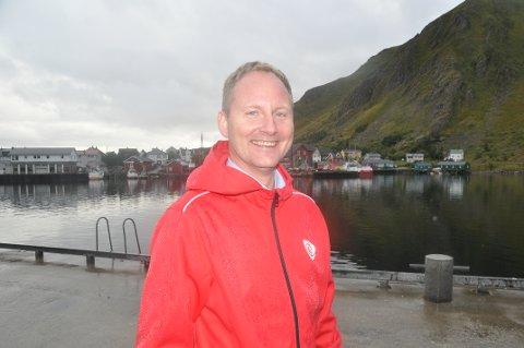DEPARTEMENTET: Vestvågøy-ordfører Remi Solberg skal gå en runde til med Fiskeridirektoratet om forslagene i arealplen knyttet til fiskeriinteresser.