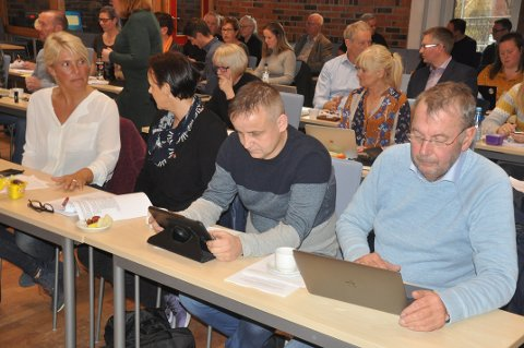NEDBEMANNING: Pål Krüger (Frp) tviler på at effekten av nedbemanningen blir en innsparing på 26 millioner kroner.
