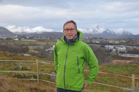 NÆRING: Terje Wiik mener Vestvågøy må bli mer aktiv overfor primærnæringene.