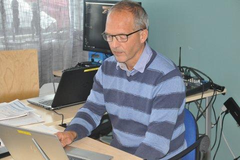 SKIFTER BEITE: Flakstad-rådmann Erling Sandnes blir rådmann på Værøy.