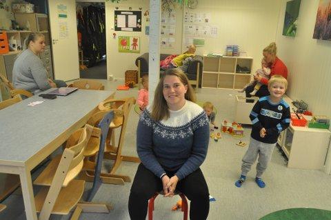 OVERSKUDD: Styrer Karoline Magnussen og de ansatte får ros fra eierne av Nubben barnehage.