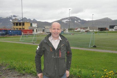 NY SKOLE: Ordfører Trond Kroken (Sp) mener modulbygg kan være en løsning for ny skole på Ramberg.