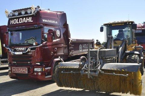 GODT ÅR: 2019 ble et godt år for Ståle Holdahl maskin og transport AS på Gravdal.