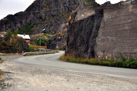 Vaglesvingen i Ytre Stamsund.