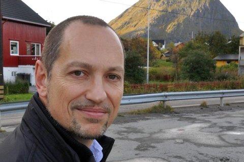 Leder i FAU ved Ballstad skole, Rolf Zimmermann.