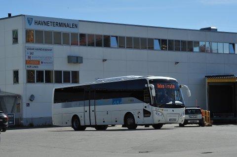 STREIK:  Skoleskyssen rammes av busstreiken denne uken, men neste uke er det høstferie for skolene i Lofoten.